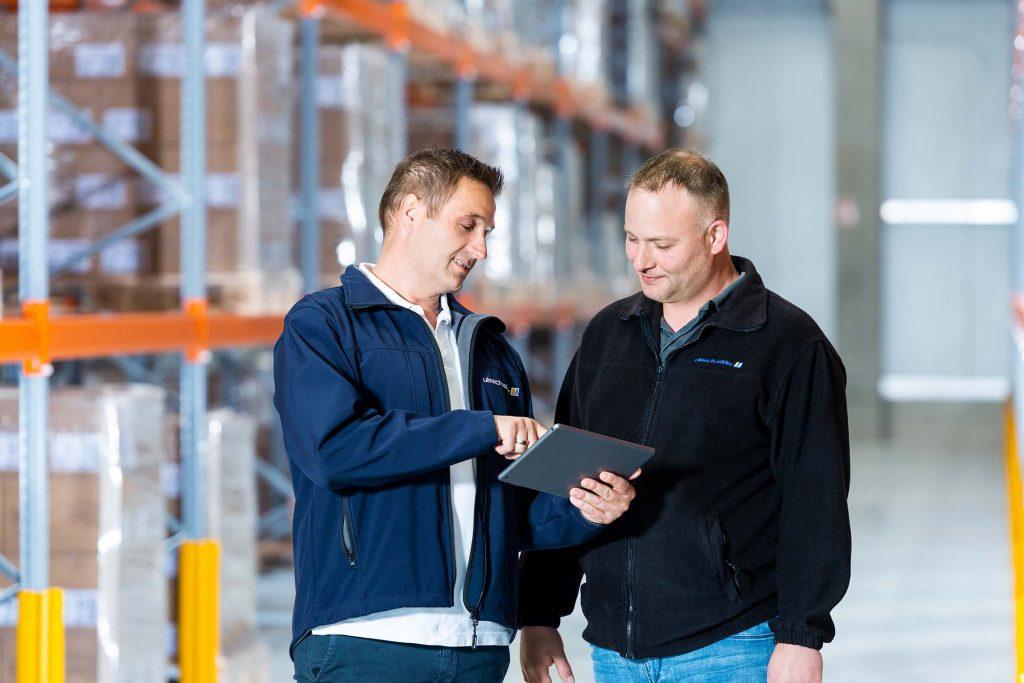 Ulmschneider Logistik & Spedition Mitarbeiter Kommunikation