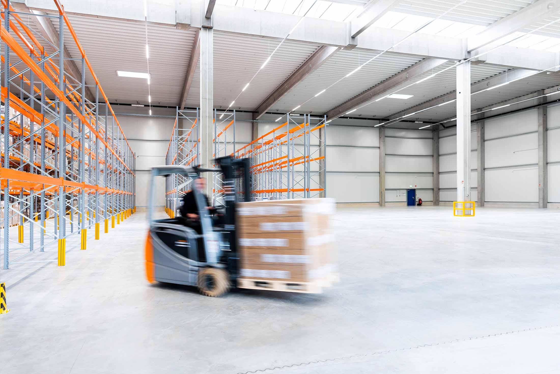 Ulmschneider Logistik & Spedition Gabelstapler Logistik