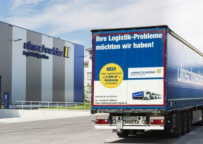 Ulmschneider Logistik & Spedition – Ihre Logistik Probleme möchten wir haben